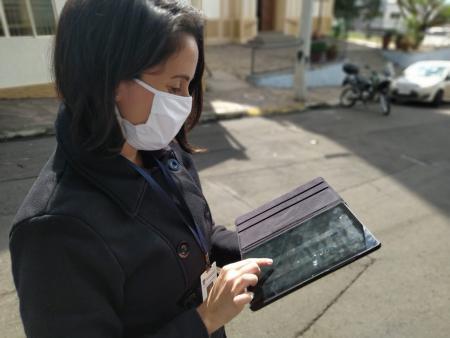 Agentes de Saúde têm atividade modernizada com uso de tablets