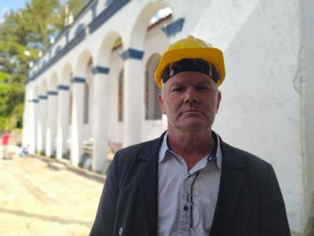 Dullius acompanha sequência das obras na Casa do Morro
