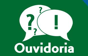Logotipo do serviço: Ouvidoria